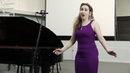 Tchaikovsky Olga's aria from the opera Eugene Onegin JULIA FAYZULINA