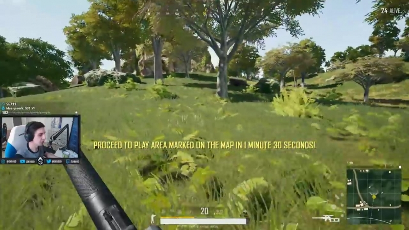 [Shroud] 20 FRAG SOLO VSS GAME!