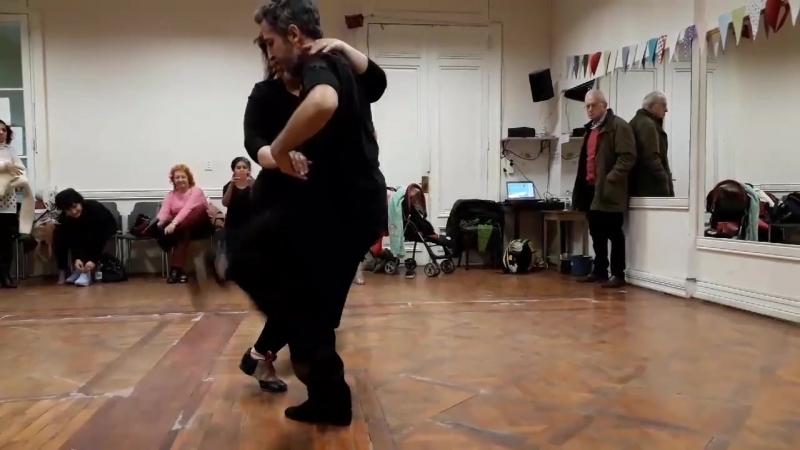 Танго канженге: María Laura Collavini Gustavo Negrotto