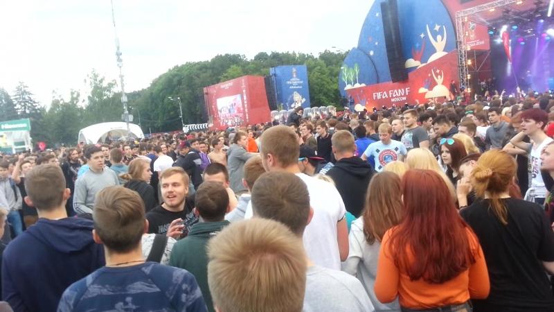Moscow Football Fest СЛЭМ Жги Сын