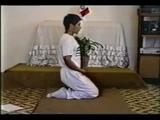 Javier Ortiz demonstrates Maharishi Yoga Asanas