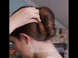 Как быстро собрать волосы, учись