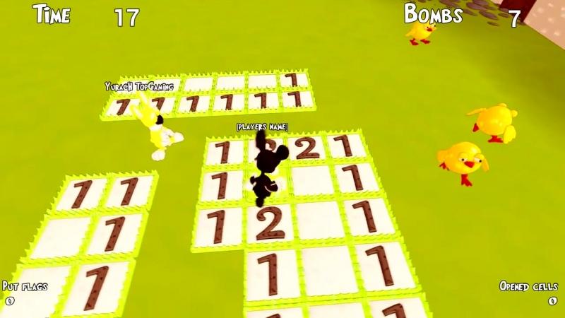[AnTOnY GAMER] САМАЯ СМЕШНАЯ ИГРА ПРО САПЕРА - Bunny Minesweeper