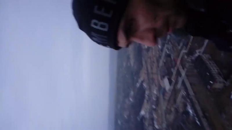 Тульская область,г.Советск,Советская ГРЭС. Высота трубы 250 метров,видеозапись со 100 метров.