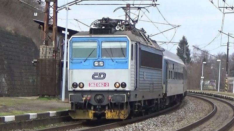 Vlaky Praha-Velká Chuchle 1.4.2018