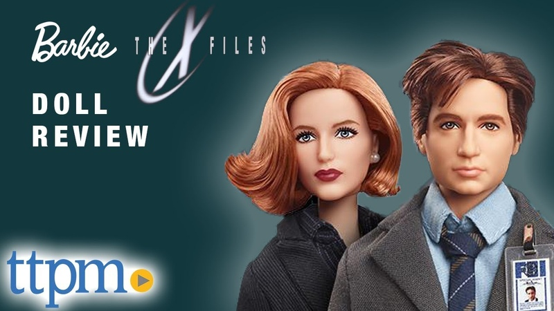 ОБЗОР кукол Barbie The X Files Agent Dana Scully and Agent Fox Mulder from Mattel toy