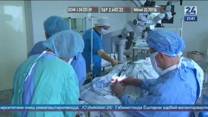 ИИВ госпиталида Украиналик шифокорлар билан маҳорат дарслари t.me/joinchat/AAAAADv7jmaa_ECIP2kiTA