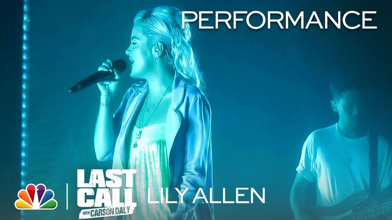 Lily Allen: Waste - Last Call with Carson Daly (Musical Performance)