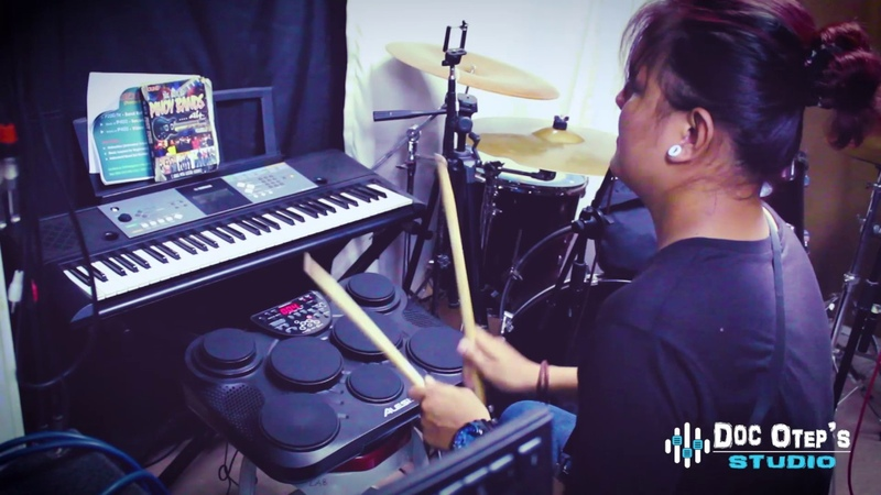 ALESIS CompactKit 7 / Medeli DD315 DEMO Drumming at Doc OTEP STUDIO