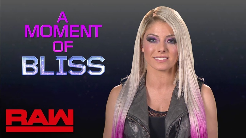 Alexa Bliss opens up about her first meeting with Trish Stratus: Raw, Oct. 1, 2018