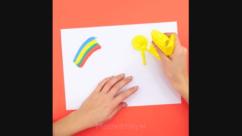 Как cделать 3D краски своими руками за 1 минуту