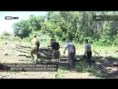 Акция Добровольцы Мирные жители ДНР роют окопы и строят блиндажи
