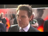 Mission Impossible - Fallout - UK Premiere - Tom Cruise Interview