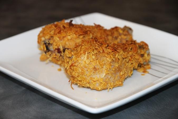 Хрустящие куриные голени в духовке ( Crispy Oven-Fried Drumsticks)