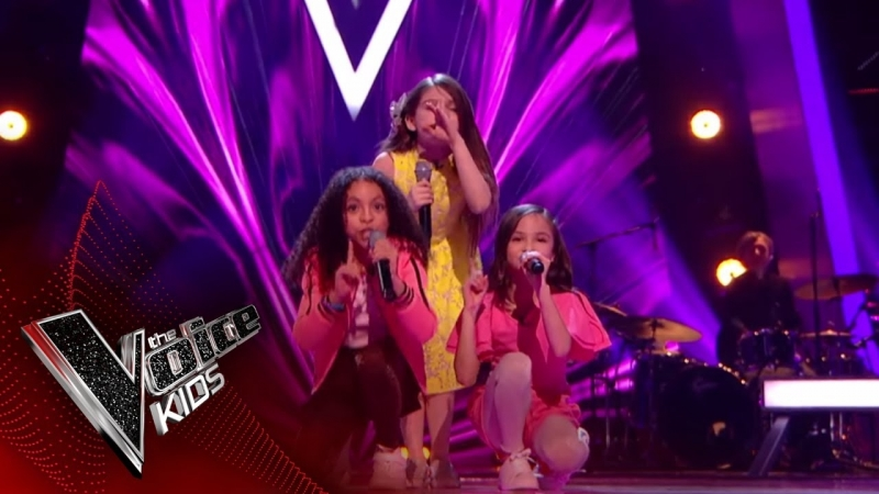 Mandy vs. Astrid vs. Savannah - It's Oh So Quiet (The Voice Kids UK 2018)