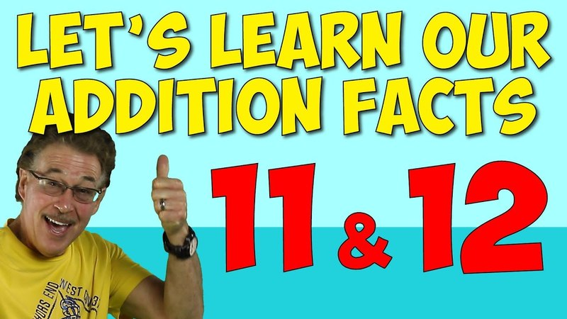 Let's Learn Our Addition Facts 11 12 | Addition Song for Kids | Math for Children | Jack Hartmann