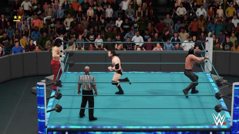 ||WW|| Seth Rollins vs Shinsuke Nakamura vs Adam Cole (SOF)