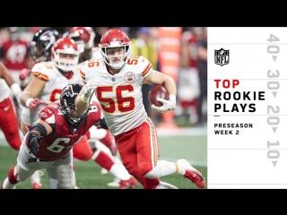 Top Rookie Plays of Preseason Wk 2 - NFL 2018 Highlights