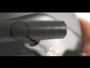 KiWAV Magazi Missie CNC Aluminum Motorcycle Mirrors Universal BMW Scooter Black