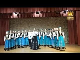 Exemplary ensemble of folk songs