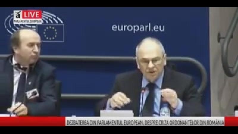 Discursul lui Gabriel Liiceanu in UE