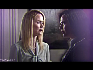 Regina Mills and Cordelia Foxx