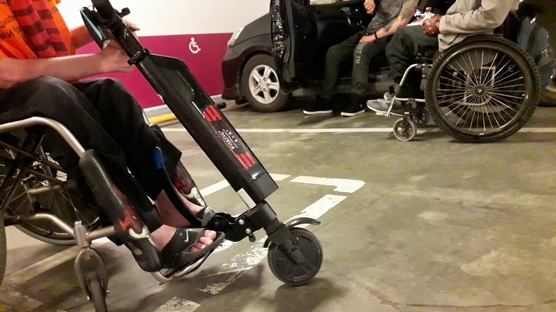 Тестирую самую маленькую электро-приставку для колясочки Wisking Q5