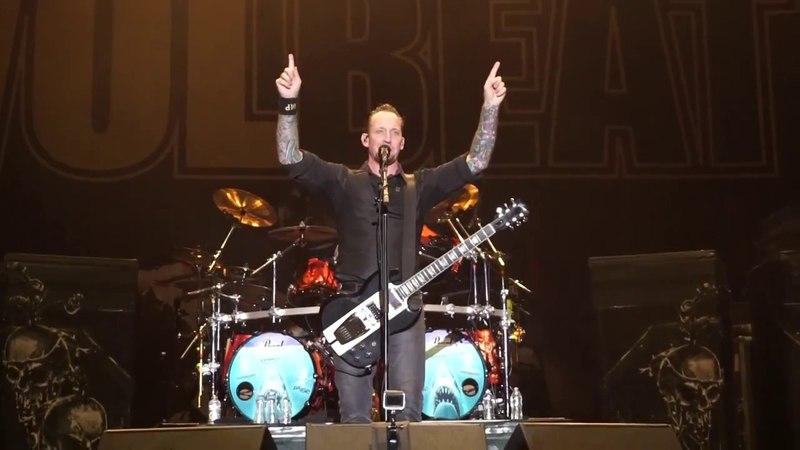 Volbeat - Seal The Deal Rock USA 2017 Oshkosh Wisconsin