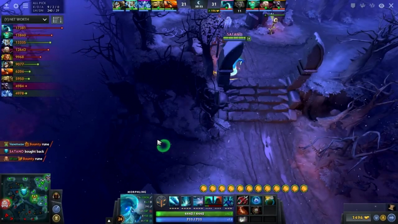 ALMOST INFINITE DAMAGE ( 99999.) ABUSE BUG with Morphling - WTF Dota 2