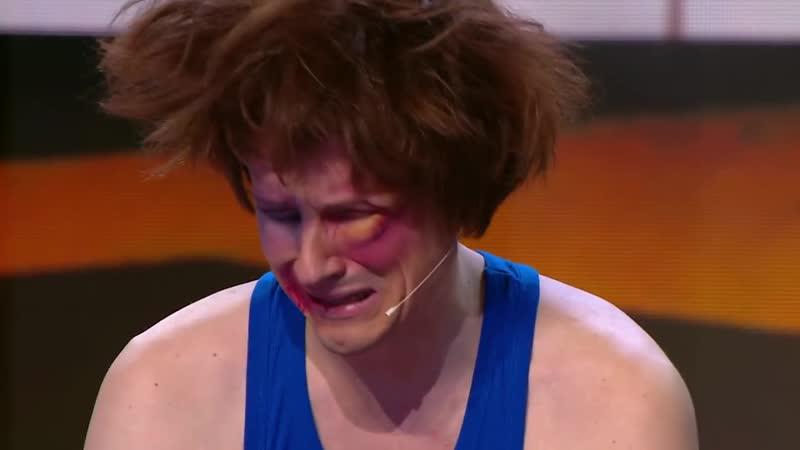 Потерпевший - боксёр Мясников. (Отрывок из Уральских пельменей).