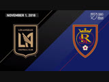 Плэй-офф, предварительный раунд | LAFC vs Real Salt Lake | November 1, 2018