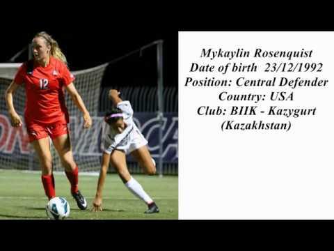 Rosenquist Mykaylin Ashley ● Central Defender ● BIIK - Kazygurt (Kazakhstan)
