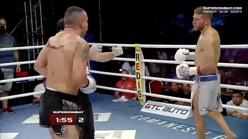 Daniel Corbeanu (Romania) vs Cristian Milea (Romania) - Superkombat Comanesti
