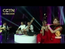 Будьте_как_дома. Проникновенная мелодия в исполнении китайских народных инструментов и индийских ситар.