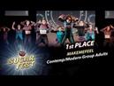 MAKEMEFEEL 🍒 1st PLACE CONTEMP MODERN GROUP ADULTS 🍒 SUGAR FEST Dance Championship