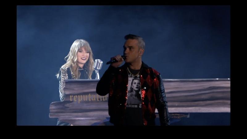 Taylor Swift and Robbie Williams - Angels - reputation Stadium Tour