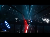 Beat Saber Custom Song - Through The Fire And Flames (HIGHEST COMBO 758).mp4