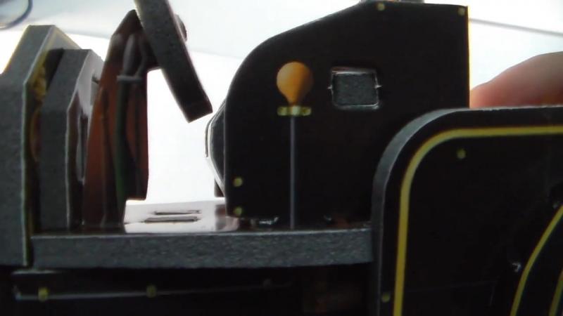 Видеообзор конструктора умная бумага сборная игрушка Ford T