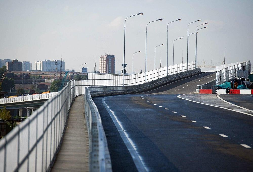 С 1 июня по 15 июля будет закрыт разворот на развязке Ленинградского и Международного шоссе