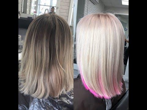 5 Сложное окрашивание, блонд в закрытой технике ❤️Лада Ким❤️