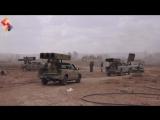 Южный Дамаск, нанесение ударов по позициям террористов ИГ в районе лагеря Ярмук