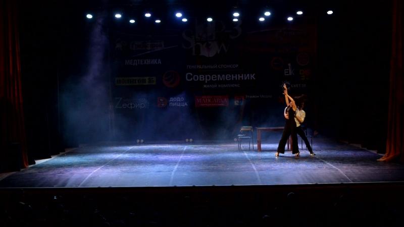 Чемпионат TOP-3 Show / Номинация: Дуэты /Алексей Одерий и Елена Окинина 2 место