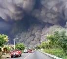 Eruption of Fuego Volcano, Guatemala