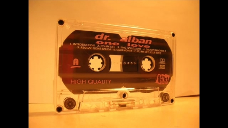 Dr Alban album One love HQ from cassette