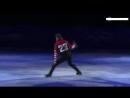 Misha Ge figure skates to Mic Drop by BTS [ 방탄소년단 ] Pyeongchang Winter Olympics (1)