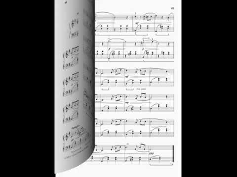 Andrej Klassen, Valse nostalgique from the Book Piano pieces
