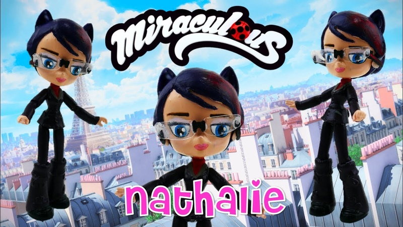 Miraculous Ladybug Toy NATHALIE Doll from My Little Pony Equestria Girls Minis Custom Tutorial