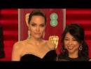BAFTA 2018. Анджелина Джоли на красной ковровой дорожке
