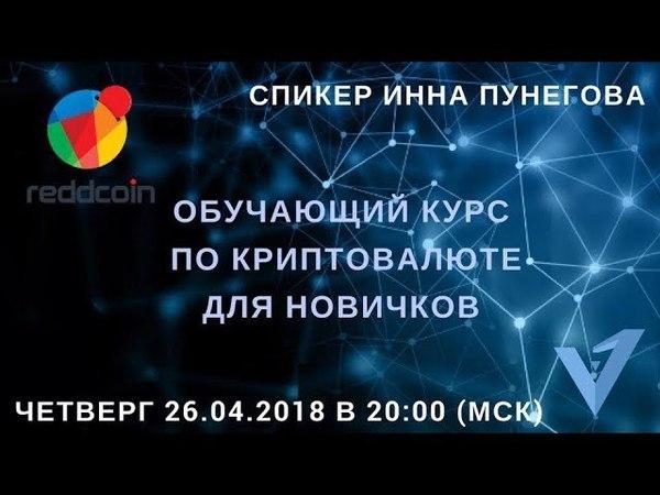 Reddcoin (RDD) - Обучающий курс по криптовалюте - Inna Punegova - Virrex.io