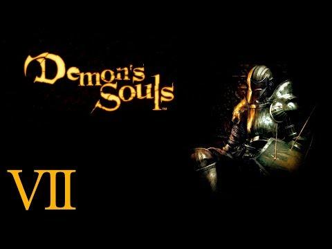 В первый раз в Demon's Souls День 7 Людоед Монах и снова ненавистные Склепы